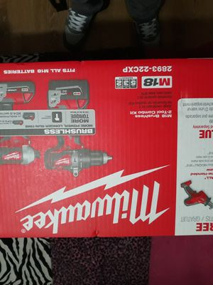 Milwaukee m18 combo kit for Sale in Federal Way, WA