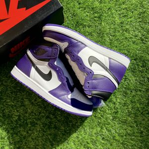 Jordan 1 Court Purple,size:9.5 for Sale in Henderson, NV