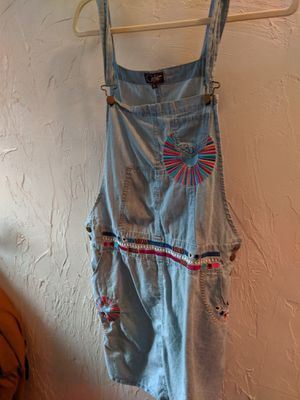 Cute faux denim overall dress for Sale in Cambridge, MA