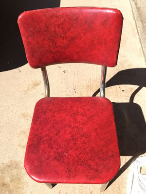 4 vintage/retro 50s diner chairs. All original for Sale in Lake Elsinore, CA