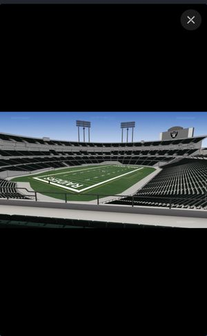 3 tickets to Jaguars vs Raiders for Sale in Alameda, CA