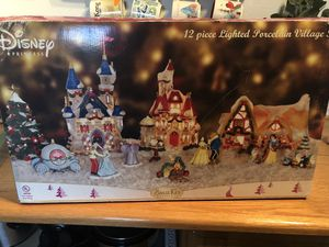 Disney princess Christmas village for Sale in Santa Clara, CA