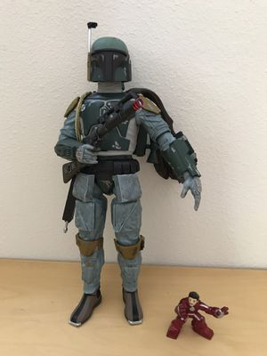Darth Vadar and Boba Fett figures. A must have for any Star Wars collectors! for Sale in Woodinville, WA