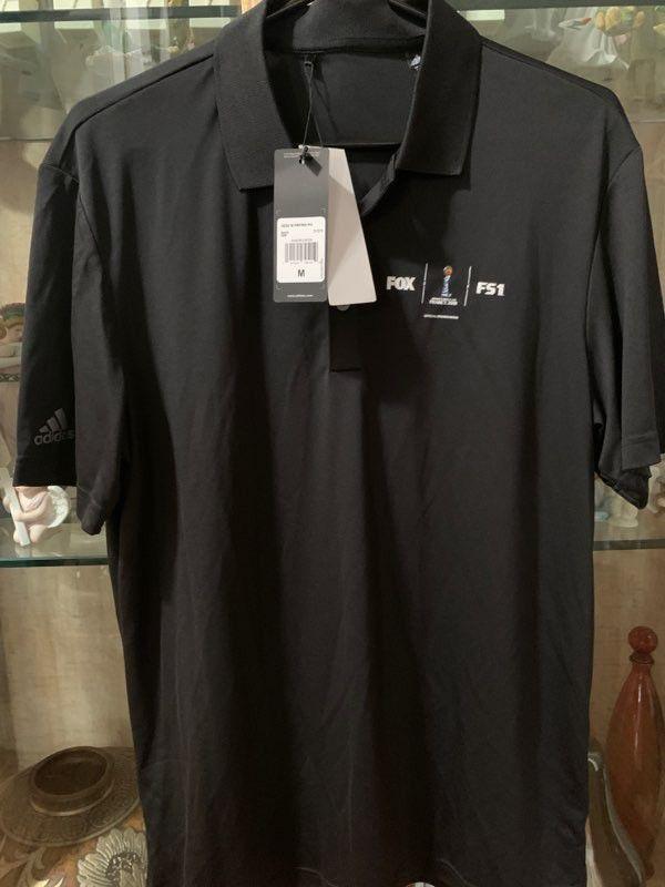Adidas Polo shirt with Fox F51 logo - Medium