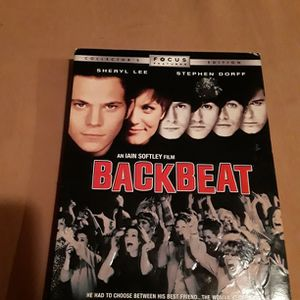 BACK BEAT DVD COLLECTORS EDITION for Sale in Oldsmar, FL
