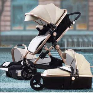 Luxurious Baby Stroller 3 in 1 Newborn Portable Travel Stroller for Sale in Anaheim, CA