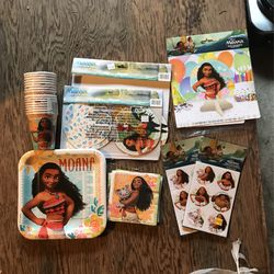 Moana Birthday Party Set for Sale in Federal Way,  WA