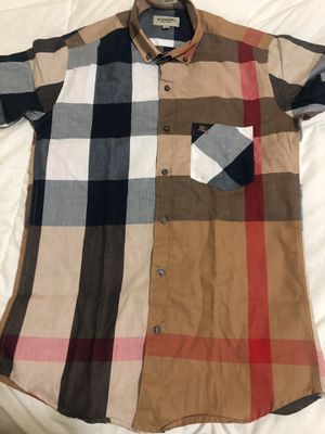 Burberry men's shirt size M slim fit for Sale in Whittier, CA