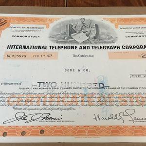 Stock certificates for Sale in Milford, VA