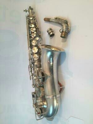 100 years old silver plated kings saxophone for Sale in Marietta, GA