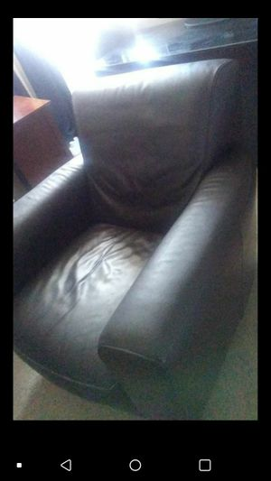 Leather sofa use condition for Sale in Hesperia, CA