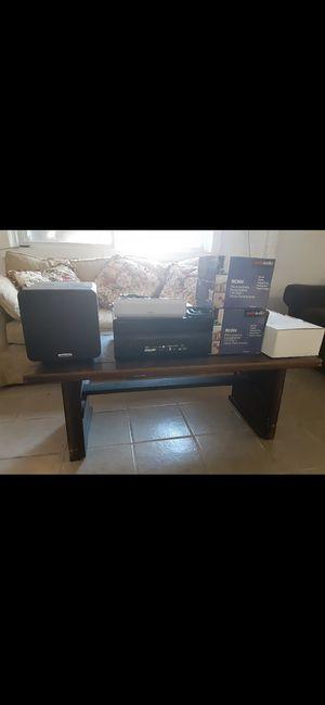 Polk stereo system for Sale in Oakhurst, NJ