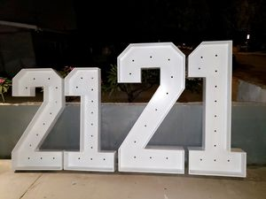 Marquee Numbers !! for Sale in Anaheim, CA