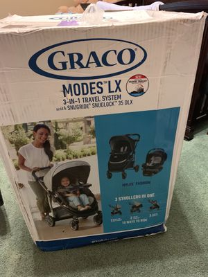 Graco Travel System - Stroller & Car Seat for Sale in Garland, TX