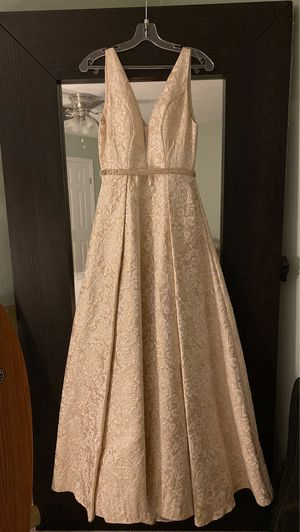 A line prom dress for Sale in Chesapeake, VA