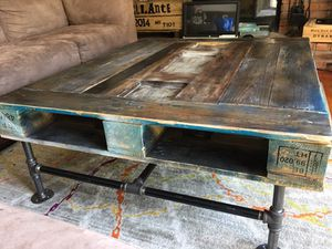Custom Made Industrial Pallet Coffee Table for Sale in Cleveland, OH