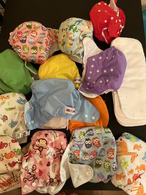 Cloth diapers and liners for Sale in Miramar, FL