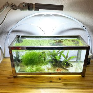 Stainless steel framed aquarium for Sale in Dallas, TX