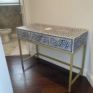 Wooden handmade Inlay Console Table From india for Sale in Boca Raton, FL