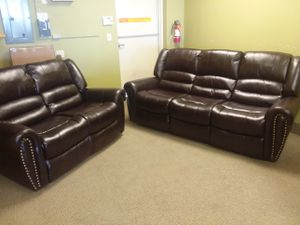 Recliner sofa set **$40 Down for Sale in Las Vegas, NV