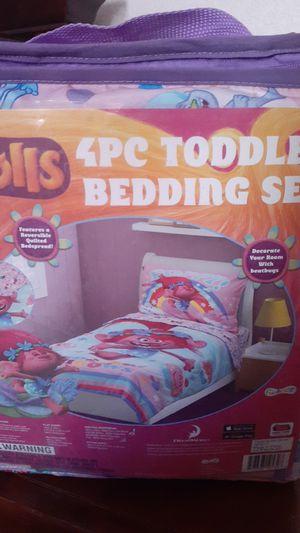 New Trolls toddler bedding set for Sale in El Mirage, AZ