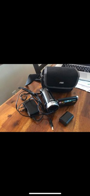 JVC Everio Camcorder with Accessories for Sale in Staunton, VA