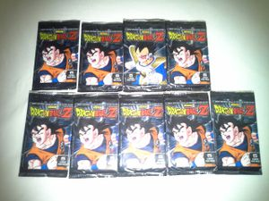 Dragon Ball Z Packs 5 Cards Per Pack New All 9 Packs For $15 for Sale in Reedley, CA