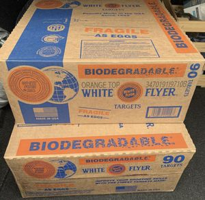 White Flyer 90pc Clays for Sale in Duarte, CA