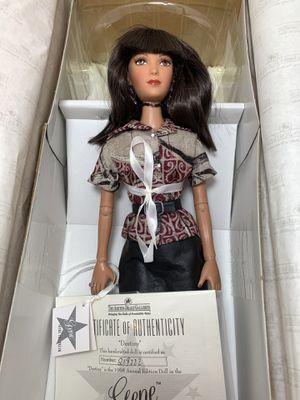 Ashton Drake Gene Marshall Fashion Designer Mel Odom with Box for Sale in Beaverton, OR