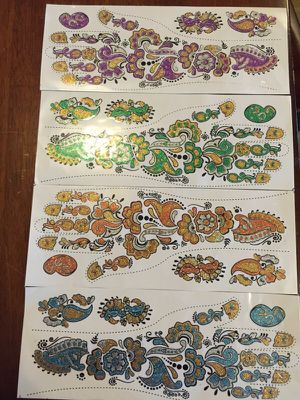 Brand new hand henna stickers for Sale in Renton, WA