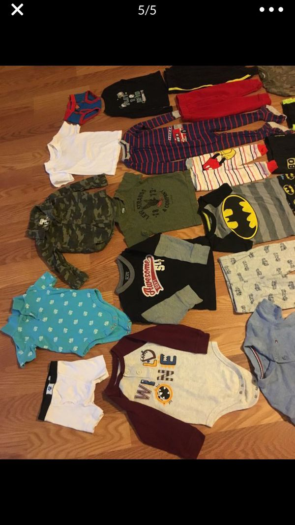 Boy's Clothes 12-24M 35 pieces