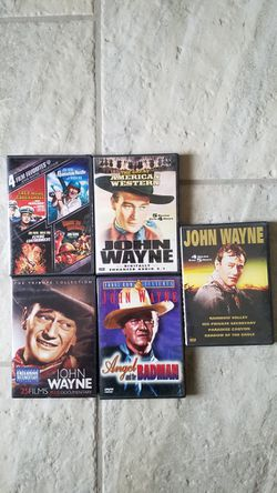 *JOHN WAYNE DVD MOVIE COLLECTION 🎥 Total Of 39 Movies!! for Sale in El Paso,  TX