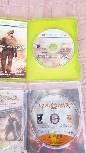 God of War III (PS3/Call of Duty: Modern Warfare 2 (XBOX 360) for Sale in Washington, DC