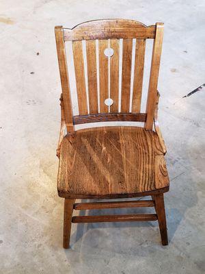 Antique oak child's chair for Sale in Watsonville, CA