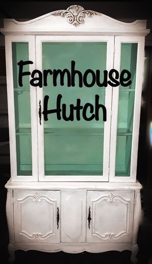 Farmhouse hutch / French Provincial for Sale in St. Petersburg, FL