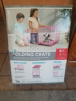 You and Me 2 door folding crate small for Sale in Pittsburgh, PA