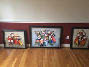 Hand painted pictures for Sale in Midlothian, VA