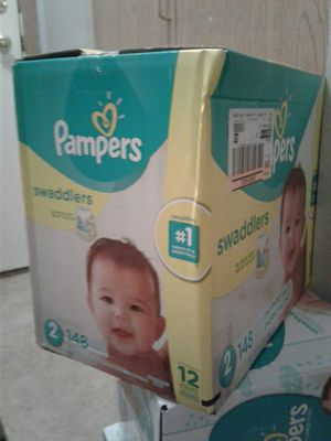 Pampers Swaddlers Diapers sizes 1 2 3 4 5 & 6 for Sale in Eagan, MN