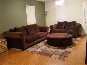 3 Piece Microfiber Couch set for Sale in Modesto, CA