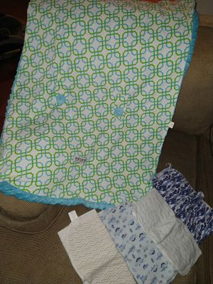 Car seat cover and 4 blankets for Sale in Greenville, SC
