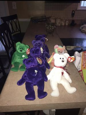 Rare 90s beanie babies make offer also have a bunch more for Sale in EASTAMPTN Township, NJ