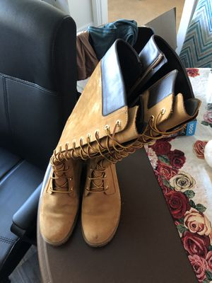 Timberland Women's boots 14 inches size 9.5 for Sale in Washington, DC