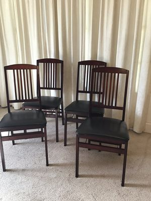 Folding Dining Chairs / Sillas Doblables for Sale in Norwalk, CA