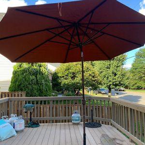 Oval Sunbrella Oval Patio Umbrella for Sale in Vienna, VA
