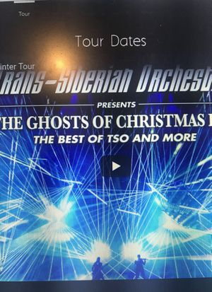 Trans-Siberian Orchestra 2018 for Sale in Germantown, MD