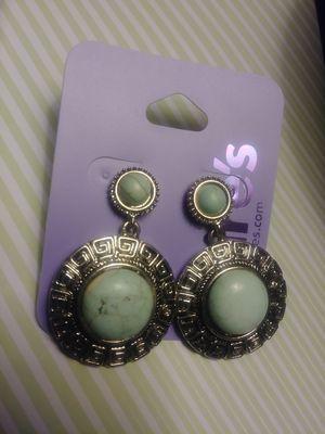 Ladies earrings turquoise new for Sale in NC, US