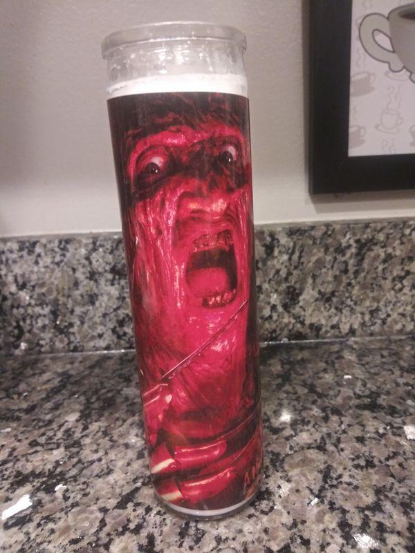 Freddy Kreuger: Elm Street tall candle