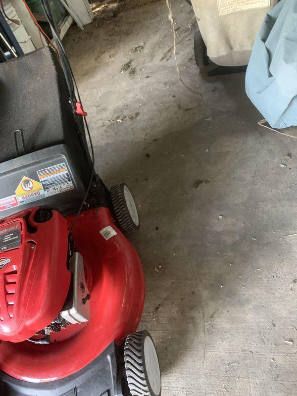 Troy bilt lawn mower