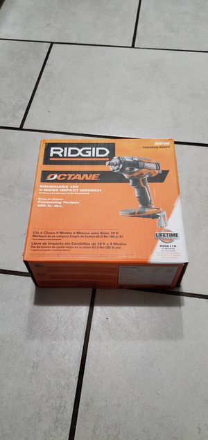 RIDGID 18 VT OCTANE IMPACT WRENCH 1/2 for Sale in Signal Hill, CA