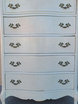 White French Provincial Tallboy Dresser for Sale in Huntington Beach,  CA